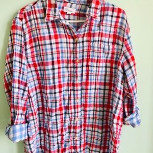 🍒🍒4 for 25 Gap Plaid Shirt